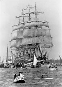 Nymphaea en Kruzenshtern Sail 1985